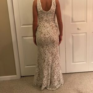 Xscape Lace Prom Dress